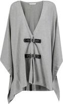 MICHAEL Michael Kors Draped cotton-blend cardigan