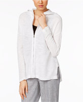 Eileen Fisher Linen-Blend Hooded Cardigan