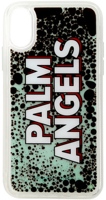 Palm Angels Multicolor Liquid Logo iPhone X Case
