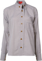 Vivienne Westwood asymmetric button shirt