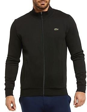 Lacoste Cotton-Blend Fleece Full-Zip Regular-Fit Sweatshirt