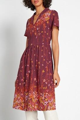 ModCloth Lively Identity Short Sleeve Dress
