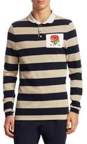 Kent & Curwen Finney Rose Rugby Polo