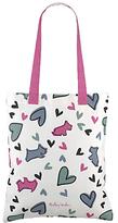 Radley Love Me Love My Dog Canvas Tote Bag, Multi