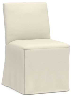 Pottery Barn Classic Long Dining Chair - Slipcover Only