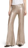 Free People Women's The Minx Sequin Flare Pants