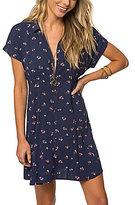 O'Neill Kiki Floral Printed Shirt Dress