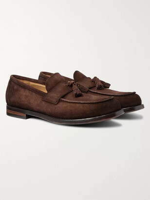 Officine Creative Vine Suede Penny Loafers