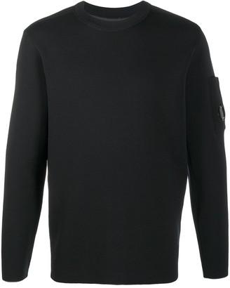 C.P. Company Crewneck Logo-Patch Sweatshirt