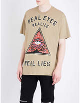 Givenchy Triangle Cotton T-shirt