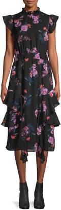 Rachel Roy Nikita Ruffled Dress