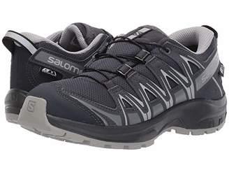 Salomon XA Pro 3D CSWP Nocturne (Little Kid/Big Kid) (Ebony/Alloy/Quiet Shade) Kid's Shoes