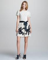 RED Valentino Popcorn-Knit Dress