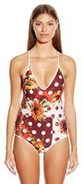 Clover Canyon Women's Sunflower Dreams One Piece Swimsuit