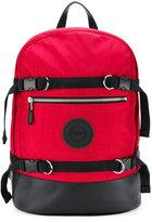 Versus multiple buckle backpack
