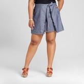 Merona Women's Plus Size Wrap Skirt