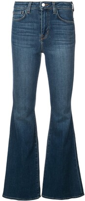 L'Agence slim-fit bootcut jeans