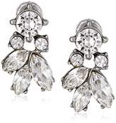 Ben-Amun Jewelry Clear Crystal Stud Earrings for Bridal Wedding Anniversary