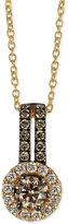 LeVian Le Vian Bridal® Diamond Pendant Necklace (3/4 ct. t.w.) in 14k Gold