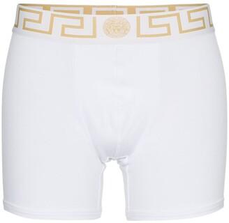 Versace Gold Trim Logo Boxers