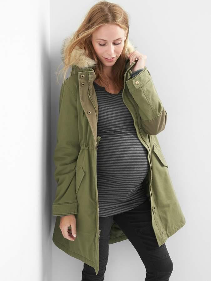 Gap Maternity PrimaLoft parka