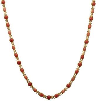 Gurhan Rune Coral Necklace