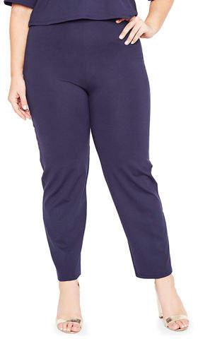 f65753ff8b5 High Rise Ponte Pants Skinny - ShopStyle