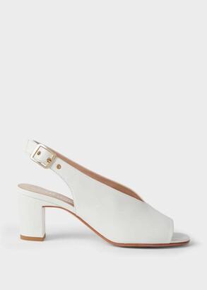 Hobbs Kali Leather Block Heel Sandals