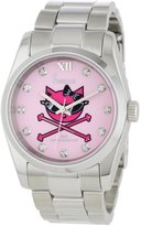 Freelook Women's HA5304-5C Viceroy Kitty Dial Stainless-Steel Case and Bracelet Watch