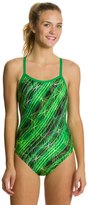 Nike Swim Epic Lights Classic Lingerie Tank One Piece Swimsuit 8114696