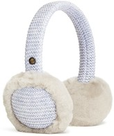 UGG Girls' Knit & Sheepskin Earmuffs - One Size