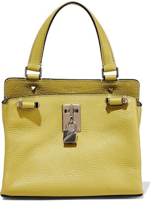 Valentino Joylock Pebbled-leather Shoulder Bag