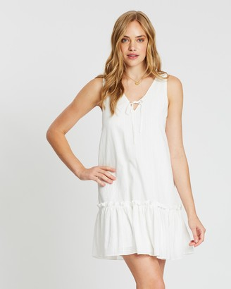 MinkPink Odetta Reversible Mini Dress