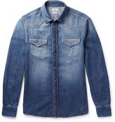 Brunello Cucinelli - Washed-denim Western Shirt