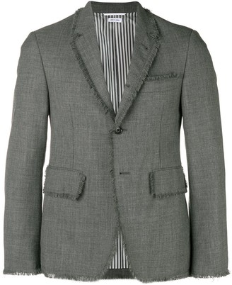 Thom Browne Frayed Edge Sport Coat
