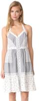 Rebecca Taylor Sleeveless Breeze Halter Dress