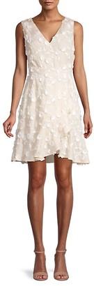 Rebecca Taylor Nicola Sleeveless Wrap Dress