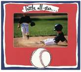 LITTLE ALL-STAR . . . painted keepsake by Malden - 4x6