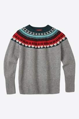 Wilson Donna Helga Yoke Sweater Grey - S