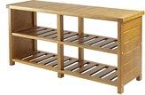Winsome Wood Keystone Shoe Bench