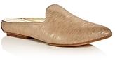 Donald J Pliner Rue Metallic Pointed Toe Mules