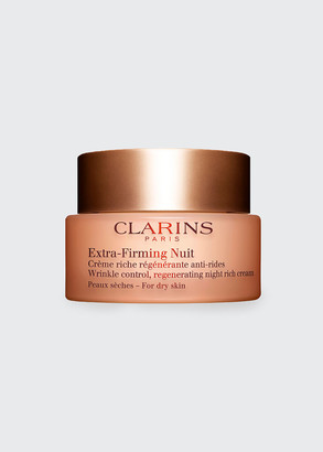 Clarins Extra-Firming Wrinkle Control Regenerating Night Cream A Dry Skin