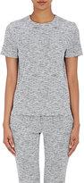Victoria Beckham Women's Tweed-Effect Top-WHITE, NAVY, NO COLOR