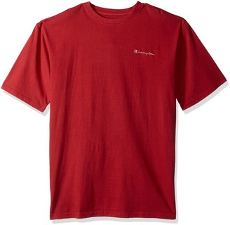 Champion Men's Big and Tall Ss Pigment Dyed Solid Tee Lc
