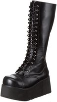 Pleaser USA Demonia by Men's Trashville-502 Lace-Up Boot