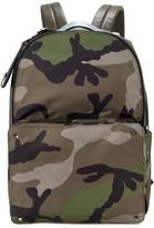 Valentino Rockstud Camouflage-print Backpack