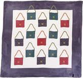 Chanel Multicolor Flap Silk Scarf