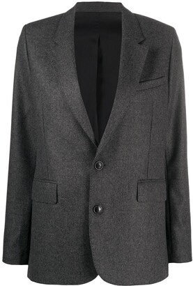 Ami Narrow Notched Lapels Blazer