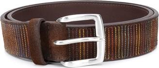 Orciani Stitch Detail Belt