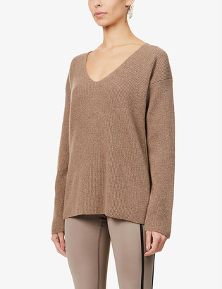 Ernest Leoty Eloise wool and cashmere-blend jumper
